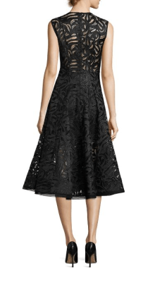 Alexis Keith Lace Midi Dress Back $770