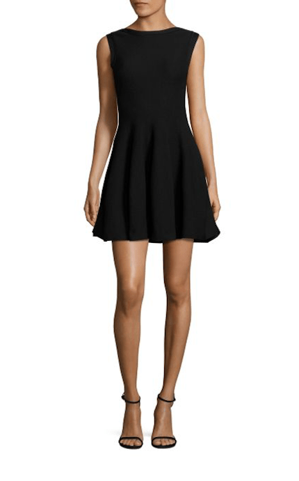Dresses Evolve Stay the Same Alice & Olivia Rema Textured Fit-&-Flare Dress $275