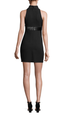 Brandon Maxwell Mod Mini Dress Back $1,395