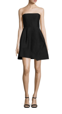 Halston Heritage Strapless Faille Dress $1,395
