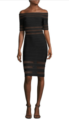 Herve Leger Off The Shoulder Dress $1,290