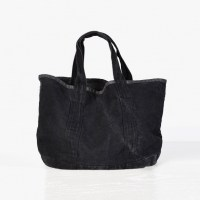 James Perse Small Canvas Tote Charcoal, $250