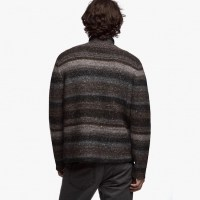 James Perse Tweed Knit Sweater Back $525