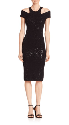 Michael Kors Collection Paillette Racer Sheath Dress, $1895