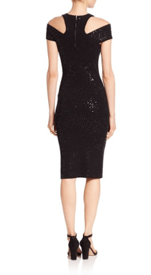 Michael Kors Collection Paillette Racer Sheath Dress Back $1,895