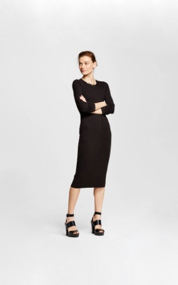 Mossimo Rib Sweater Dress, $32.99
