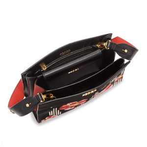 Prada Madras Primrose Clutch Open $2,160