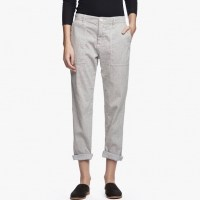 James Perse Cotton Linen Relaxed Pant Sage $225