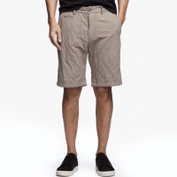 James Perse Cotton Metal Short Greystone $225