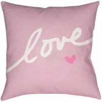 Surya Love Forever Throw Pillow Pink $39.99