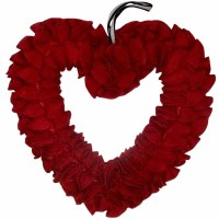 Threshold Heart Shaped Felt Heart Wreath $14.99