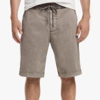 James Perse Compact Cotton Short Greystone Pigment $185