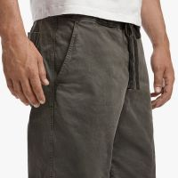 James Perse Compact Cotton Short Hunter Pigment Closeup $185