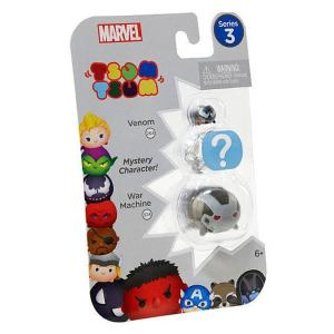 Marvel Tsum Tsum Series 3 Venom & War Machine Minifigure 3-Pack $13.99