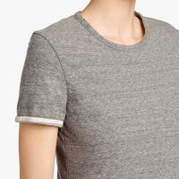 James Perse Recycled Knit Tee Dress Neck $205