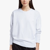 James Perse Y:Osemite French Terry Sweatshirt White $195