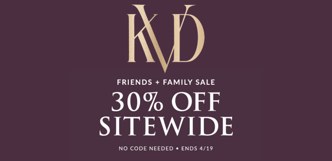 KVD Beauty Friends and Family Feature