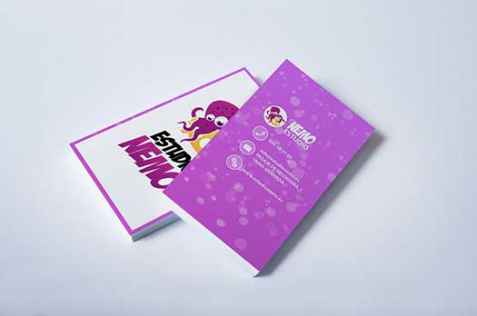 diseños de tarjetas de visita granada