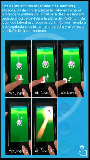 trucos lanzamientos pokemon go