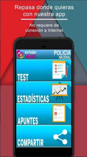 test oposiciones policia nacional gratis