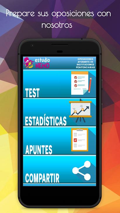app gratis de test oposiciones ayudante instituciones penitenciarias