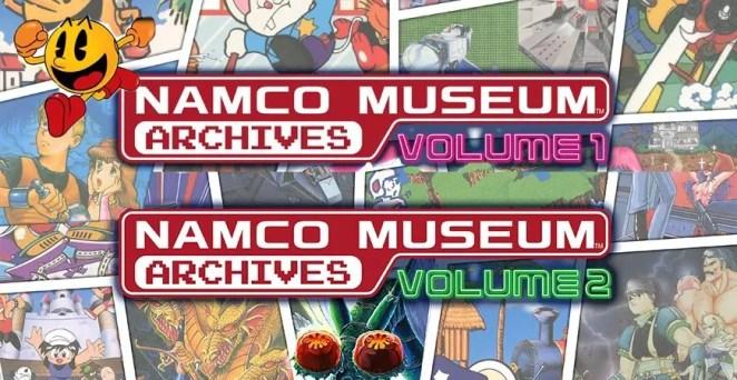 Namco Museum Archives Volume 1 e 2