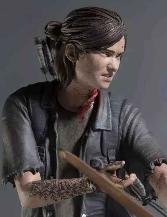 action figure the last of us