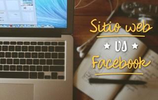 Sitio web vs Facebook. ¿Por donde vender mejor?