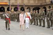 Su Majestad la Reina pasa revista a la Fuerza