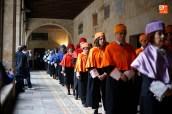 FORMAL INGRESO DE LOS DOCTORES PROFESORES DE LA UNIVERSIDAD DE SALAMANCA AL PARANINFO HISTÓRICO