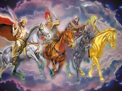 Resultado de imagem para os 4 cavaleiros do apocalípse