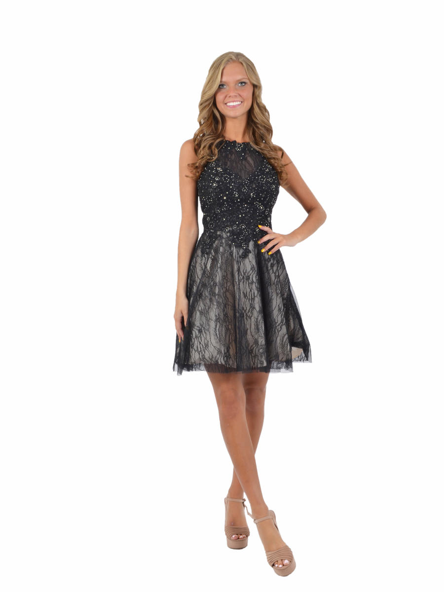 Xscape Estelle s Dressy Dresses in Farmingdale   NY Embroidered Lace   Tulle Fit   Flare Dress