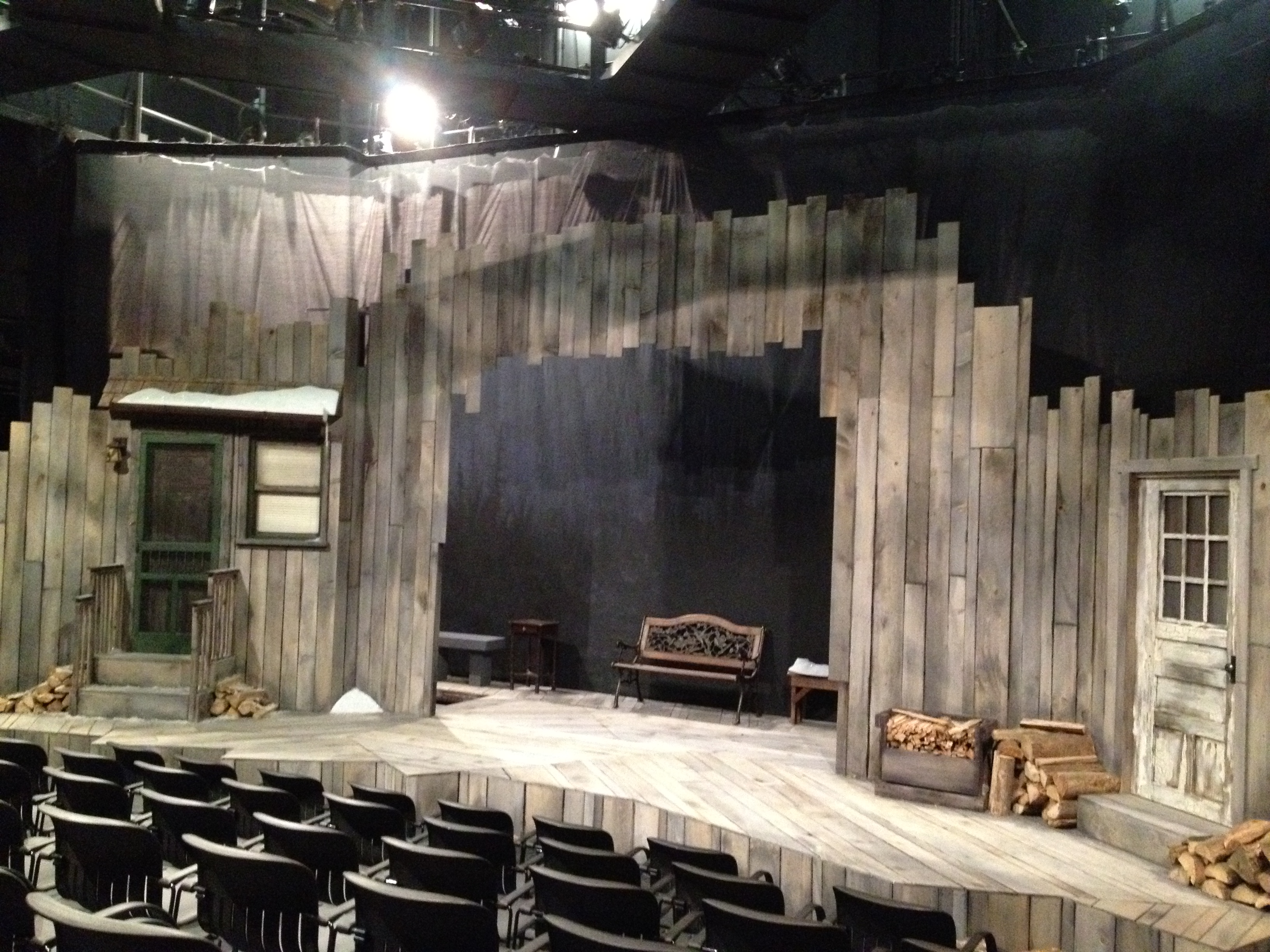 Scenic Design For The Skidmore College Black Box