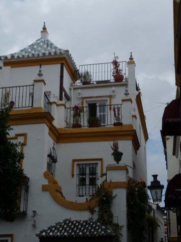 Sevilla: in the old town