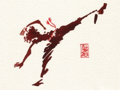 Encres : Capoeira – 382 [ #capoeira #watercolor #illustration]