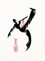 Encres : Capoeira – 387[ #capoeira #watercolor #illustration]