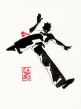 Encres : Capoeira – 395 [ #capoeira #watercolor #illustration]