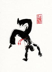 Encres : Capoeira – 400 [ #capoeira #watercolor #illustration]
