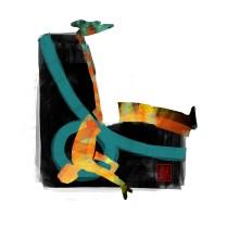 Encres : Capoeira – 531 [ #capoeira #digital #illustration] Illustration digitale réalisée avec GIMP/ Digital painting made with GIMP