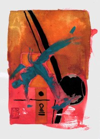Encres : Capoeira – 567 [ #capoeira #watercolor #illustration] aquarelle sur papier 300gr / watercolor on paper 300gr 18 x 25 cm / 7.1 x 9.8 in