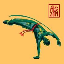 Encres : Capoeira – 621 [ #capoeira #mypaint #illustration] Image digitale / Digital image 2000 x 2000 px