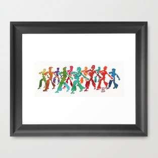 Capoeira 242 Framed Art Print