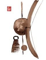 Illustration : Capoeira – 723 [ #capoeira #watercolor #illustration] aquarelle sur papier 325gr / watercolor on paper 325gr 24 x 32 cm / 9.4 x 12.6 in