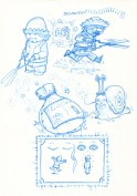 Les Huns de Jardin Croquis page 4