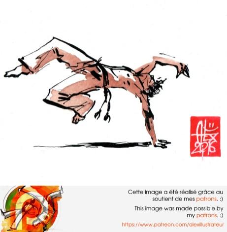 Aquarelle sur papier 300gr / watercolor on paper 300gr 10.5 x 14.8 cm / 4.1 x 5.8 in