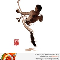Illustration : Capoeira – 1054