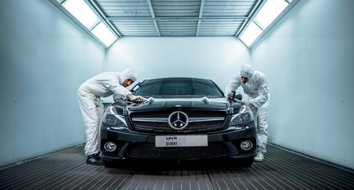 Emirates Moto, ET's Luxury Vehicles Maintenance Unit, wind the trust of 1,100 clients