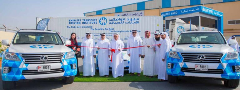 Emirates Transport Driving Institute launches smart and electronic projects