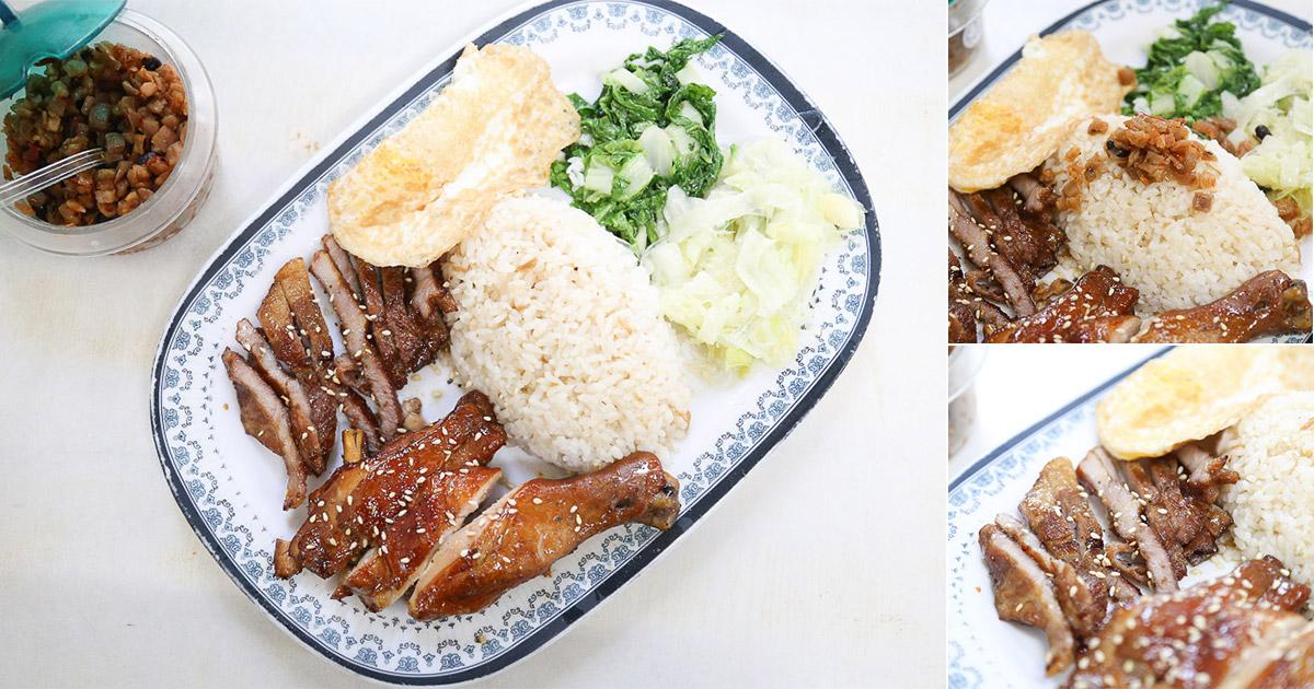台南 永康保生宮前,經營30多年燒烤便當,烤香誘人之外搭配醬汁更是涮嘴,燒肉、五花、雞腿都很讚! 台南市永康區|大廟口餐飲