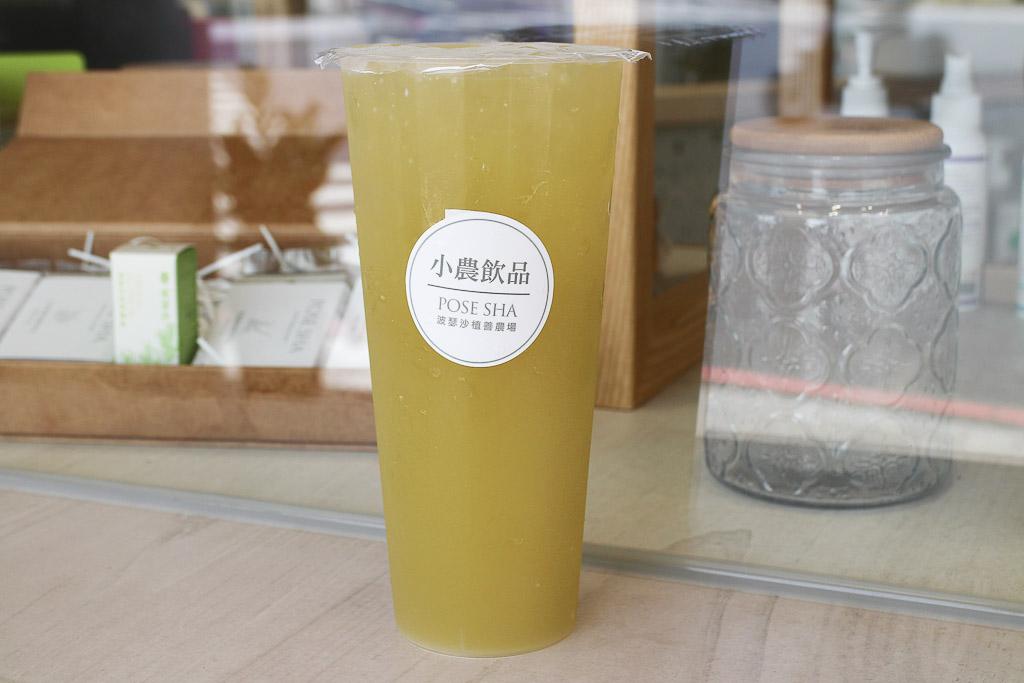 台南 甘蔗系列飲品好喝又協調,自榨甘蔗風味濃厚,搭配不同水果呈現各式變化 台南市東區 小農飲品